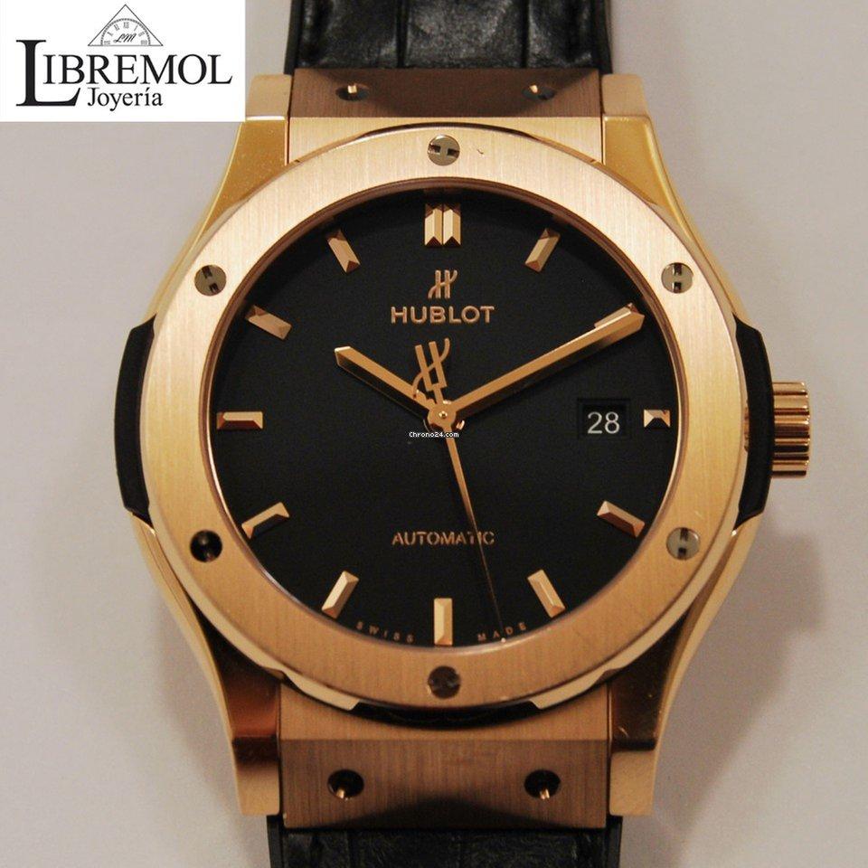 8e90d27191c0 Relojes Hublot Oro rosado - Precios de todos los relojes Hublot Oro rosado  en Chrono24