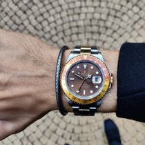 Rolex GMT-Master II 16713 tiger eye root beer dial