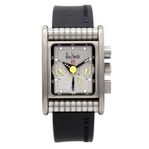 Alain Silberstein Chronograph 32mm Automatic pre-owned Silver