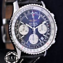 Breitling Navitimer Steel 42mm Black United States of America, New York, NEW YORK