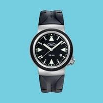 Mühle Glashütte S.A.R. Rescue-Timer Acero 42mm Negro