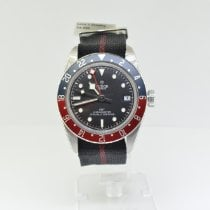 Tudor Black Bay GMT Aço 41mm Preto Sem números