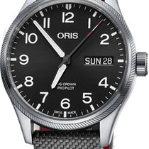 Oris Big Crown ProPilot Day Date Steel 45mm Black Arabic numerals United States of America, California, Moorpark
