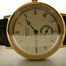 Breguet pre-owned Manual winding 34.5mm Silver 3 ATM