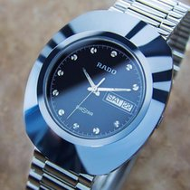 Rado Tungsten Quartz Black 35mm pre-owned Diastar