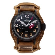 Zenith Pilot Type 20 GMT Titanium 48mm Black Arabic numerals United States of America, Pennsylvania, Bala Cynwyd