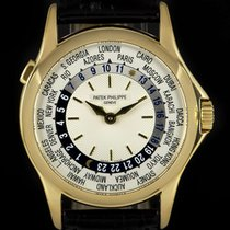 Patek Philippe World Time 5110J-001 Very good Yellow gold 37mm Automatic