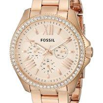 Fossil Rose gold 40mm Quartz AM4483 new United States of America, New York, Brooklyn