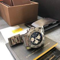 Breitling Superocean Chronograph Steelfish Stahl 44mm Schwarz