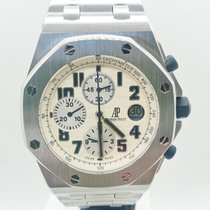 Audemars Piguet Royal Oak Offshore Chronograph pre-owned 42mm White Chronograph Date Steel