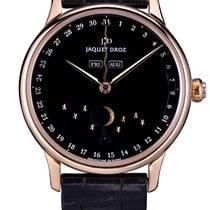 Jaquet-Droz Astrale Rosa guld 43mm Sort