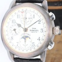 DuBois et fils Silver 38mm Automatic pre-owned