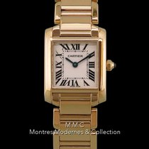 Cartier Tank Française pre-owned 20mm Yellow gold