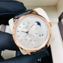 Glashütte Original PanoMaticLunar Rose gold 40mm White