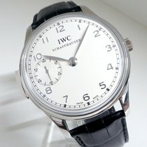 IWC Portuguese Minute Repeater Platinum 43.5mm White