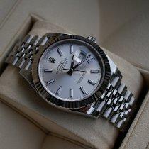 Rolex Datejust II Gold/Stahl Silber