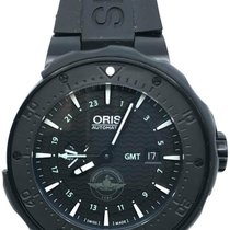 Oris Force Recon GMT Titanio 49mm Negro Sin cifras