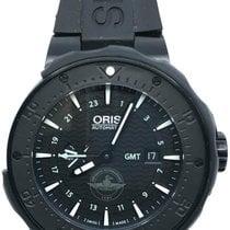 Oris Force Recon GMT Titane 49mm Noir Sans chiffres