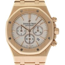 Audemars Piguet Royal Oak Chronograph Roségoud 41mm Zilver