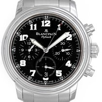 Blancpain Leman Flyback Chronograph Men's Stainless Steel...