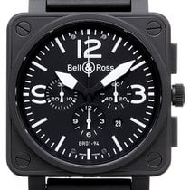 Bell & Ross BR 01-94 Chronographe Carbon 46,00mm Schwarz Arabisch Deutschland, Mülheim an der Ruhr