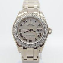 Rolex Белое золото Автоподзавод подержанные Pearlmaster