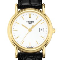 Tissot Carson Gold Case 18ct White Dial G