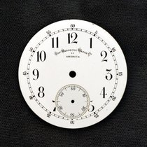 Illinois Porcelain Pocket Watch Dial 1900 pre-owned