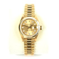 Rolex Datejust Lady 69178 - 18K Yellow Gold - Diamond Dial