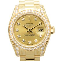 勞力士 (Rolex) Lady Datejust 18k Gold Diamond Gold Automatic...