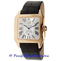 Cartier Santos Dumont Rose gold 38mm Silver Roman numerals United States of America, California, Newport Beach