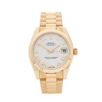 Rolex Datejust 18K Yellow Gold Women's 178278 - W4291