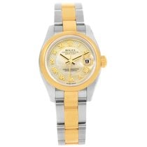 Rolex Datejust 26mm Steel Yellow Gold Decorated Mop Watch...