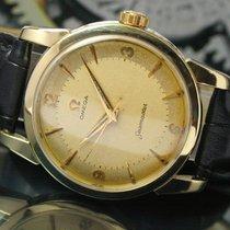 Omega Seamaster 420 Winding Gold Cap Steel Mens Watch