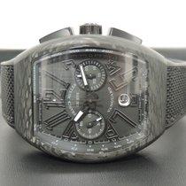 Franck Muller Carbon Automatic Black Arabic numerals 53,7mm new Vanguard