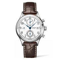 Longines Heritage Staal 41mm Wit Nederland, Culemborg