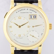 A. Lange & Söhne 1 Auf & Ab 18K Gold Faltschließe Luxus...
