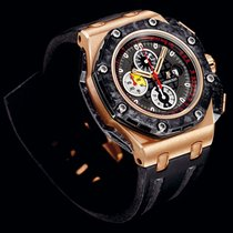 Audemars Piguet A LIMITED EDITION PINK GOLD, CERAMIC AND FOR