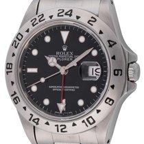 Rolex : Explorer II :  16570 :  Stainless Steel : black...