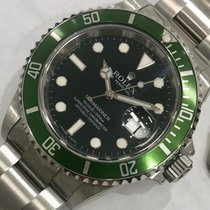 Rolex NOS Submariner Green,  Ref: 16610LV, With Factory Stickers