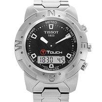 Tissot 42mm Quartz 2004 tweedehands Touch (Submodel) Zwart