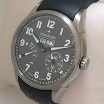 Pequignet Titanium Automatic Grey Arabic numerals 44mm new