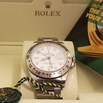 Rolex 40mm Automatic 1996 pre-owned Explorer II White