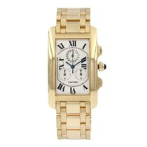 Cartier Tank Américaine Yellow gold 36mm White Roman numerals United States of America, Arizona, SCOTTSDALE