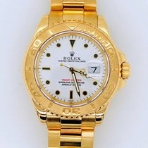 Rolex Yacht-Master Yellow gold 40mm White No numerals United States of America, New York, New York