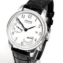 Union Glashütte Staal 41mm Handopwind D007.456.16.017.00