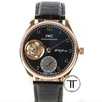 IWC Portuguese Tourbillon Rose gold 43mm Black Arabic numerals United States of America, New York, New York