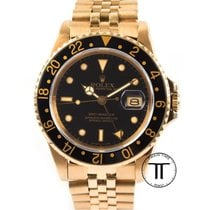 Rolex GMT-Master Yellow gold 40mm Black No numerals United States of America, New York, New York