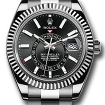Rolex Sky-Dweller Steel 42mm No numerals United States of America, New York, New York