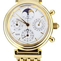 IWC Da Vinci Perpetual Calendar Yellow gold 39mm White United States of America, Illinois, BUFFALO GROVE